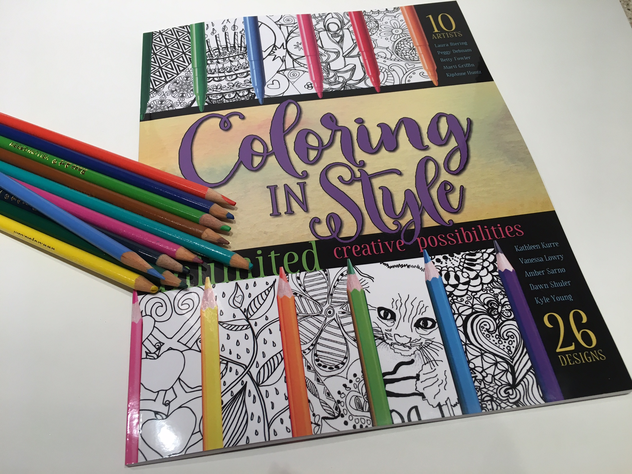 Coloring in STYLE!