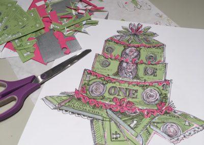 ART.MoneyCakeInProgress