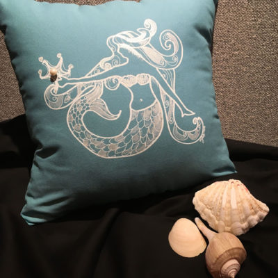 PILLOW.72.Mermaid.Shana